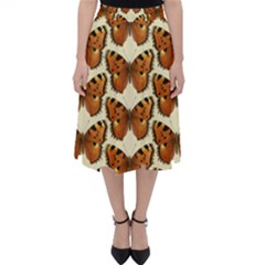 Butterflies Insects Classic Midi Skirt