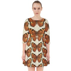 Butterflies Insects Smock Dress by Mariart