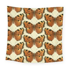 Butterflies Insects Square Tapestry (large) by Mariart