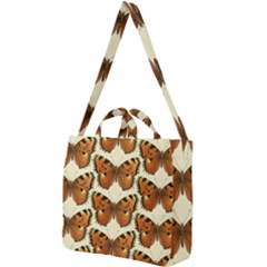 Butterflies Insects Square Shoulder Tote Bag by Mariart