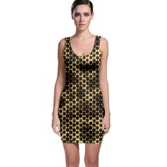 Honeycomb Beehive Nature Bodycon Dress