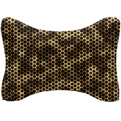 Honeycomb Beehive Nature Seat Head Rest Cushion