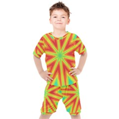 Kaleidoscope Background Star Kid s Set by Mariart