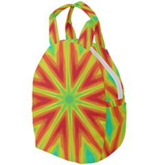 Kaleidoscope Background Star Travel Backpacks