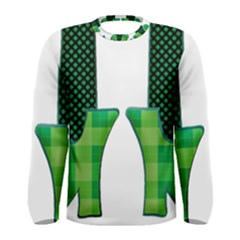 Saint Patrick S Day March Men s Long Sleeve Tee