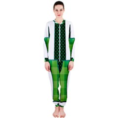 Saint Patrick S Day March Onepiece Jumpsuit (ladies)