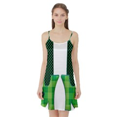 Saint Patrick S Day March Satin Night Slip