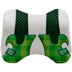 Saint Patrick S Day March Head Support Cushion by Mariart