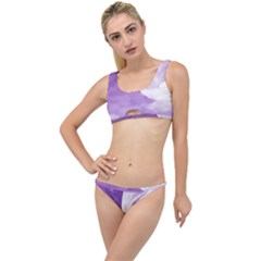 Purple Sky Star Moon Clouds The Little Details Bikini Set