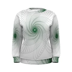 Spirograph Pattern Women s Sweatshirt by Mariart