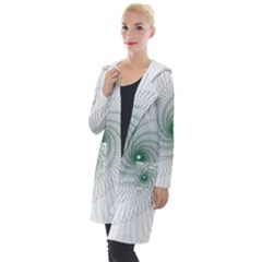 Spirograph Pattern Hooded Pocket Cardigan by Mariart