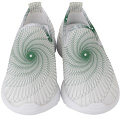 Spirograph Pattern Kids  Slip On Sneakers by Mariart