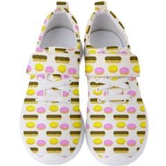 Donuts Fry Cake Men s Velcro Strap Shoes