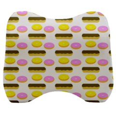 Donuts Fry Cake Velour Head Support Cushion