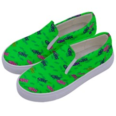 Fish Aquarium Underwater World Kids  Canvas Slip Ons by AnjaniArt