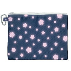 Flowers Background Wallpaper Canvas Cosmetic Bag (xxl)