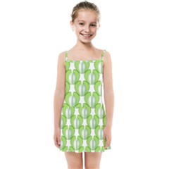 Herb Ongoing Pattern Plant Nature Kids  Summer Sun Dress by AnjaniArt