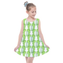 Herb Ongoing Pattern Plant Nature Kids  Summer Dress by AnjaniArt