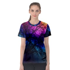 Fall Feels Women s Sport Mesh Tee