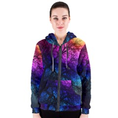 Fall Feels Women s Zipper Hoodie