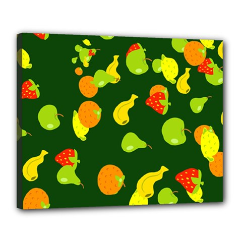 Fruite Canvas 20  X 16  (stretched)