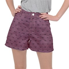Plum Bow Design Stretch Ripstop Shorts