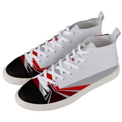 Lift Off Men s Mid Top Canvas Sneakers by WensdaiAddamns
