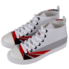 Lift Off Women s Mid Top Canvas Sneakers by WensdaiAddamns