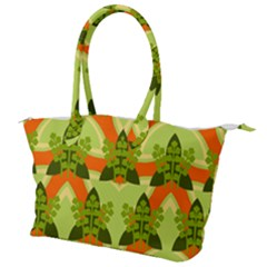 Texture Plant Herbs Herb Green Canvas Shoulder Bag