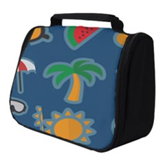 Summer Stickers Motives Cute Full Print Travel Pouch (small) by AnjaniArt