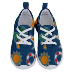 Summer Stickers Motives Cute Running Shoes by AnjaniArt