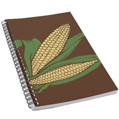 Sweet Corn Maize Vegetable 5 5  X 8 5  Notebook by Alisyart