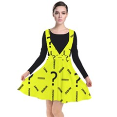 Crime Investigation Police Plunge Pinafore Dress