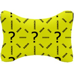 Crime Investigation Police Seat Head Rest Cushion