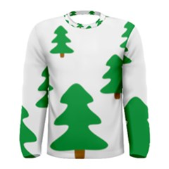 Christmas Tree Holidays Men s Long Sleeve Tee