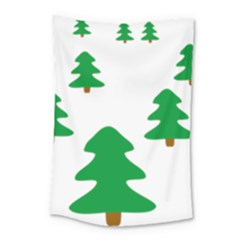 Christmas Tree Holidays Small Tapestry