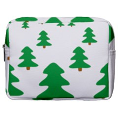 Christmas Tree Holidays Make Up Pouch (large)