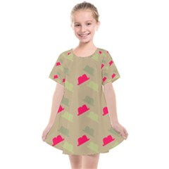 Cowboy Hat Western Kids  Smock Dress by Alisyart