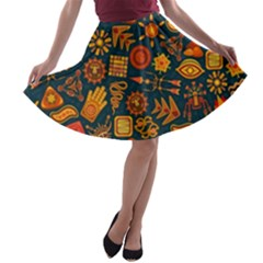 Magician s Toolbox  A Line Skater Skirt