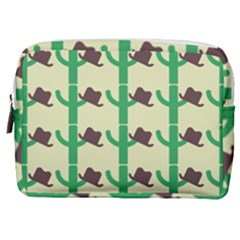 Cowboy Hat Cactus Make Up Pouch (medium)