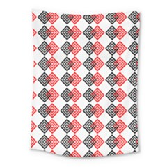 Backdrop Plaid Medium Tapestry