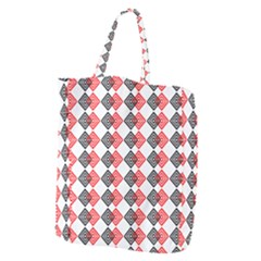 Backdrop Plaid Giant Grocery Tote