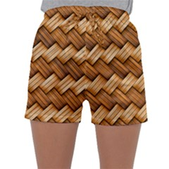 Basket Fibers Basket Texture Braid Sleepwear Shorts