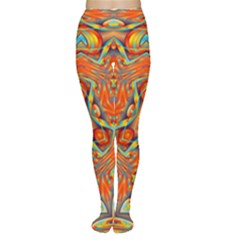 Kaleidoscope Background Mandala Tights