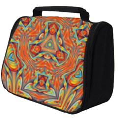Kaleidoscope Background Mandala Full Print Travel Pouch (big)