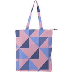 Tubular Double Zip Up Tote Bag by WensdaiAddamns