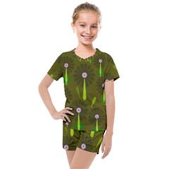 Zappwaits Kids  Mesh Tee And Shorts Set by zappwaits