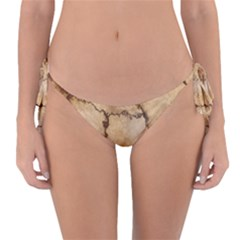 Stone Surface Stone Mass Reversible Bikini Bottom by Mariart