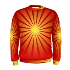 Sunburst Sun Men s Sweatshirt