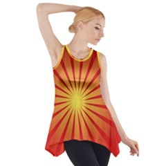 Sunburst Sun Side Drop Tank Tunic